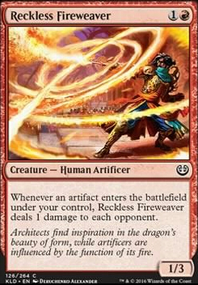 Reckless Fireweaver