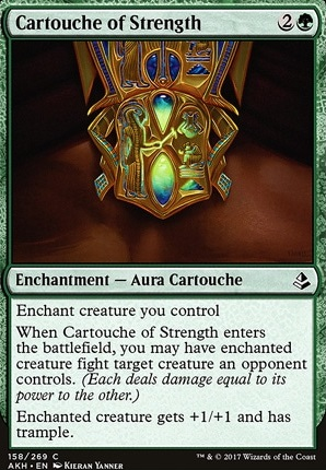 Cartouche of Strength