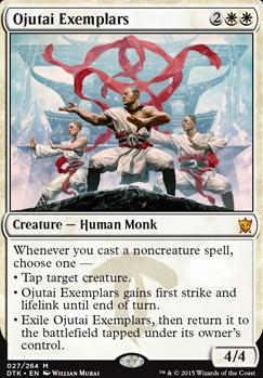 Dragons of Tarkir ~ OJUTAI EXEMPLARS mythic rare Magic the Gathering card