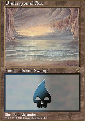 Underground Sea (ME4 MTG Card)