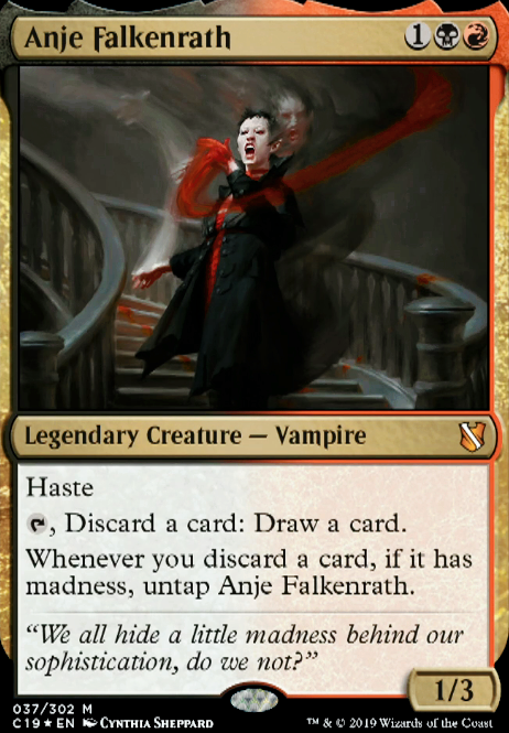 Anje Falkenrath (C19 MTG Card)
