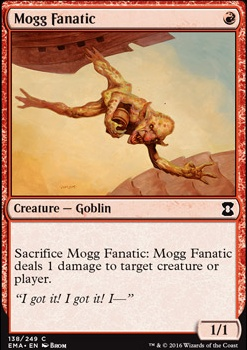 Mogg Fanatic (EMA MTG Card)