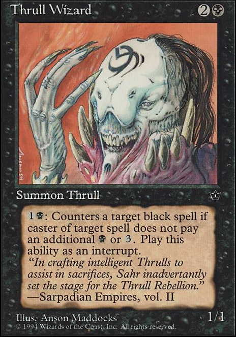 Thrull Wizard Fem Mtg Card Despite being the most religious of the guilds, they are arguably the least spiritual guild on ravnica. thrull wizard fem mtg card