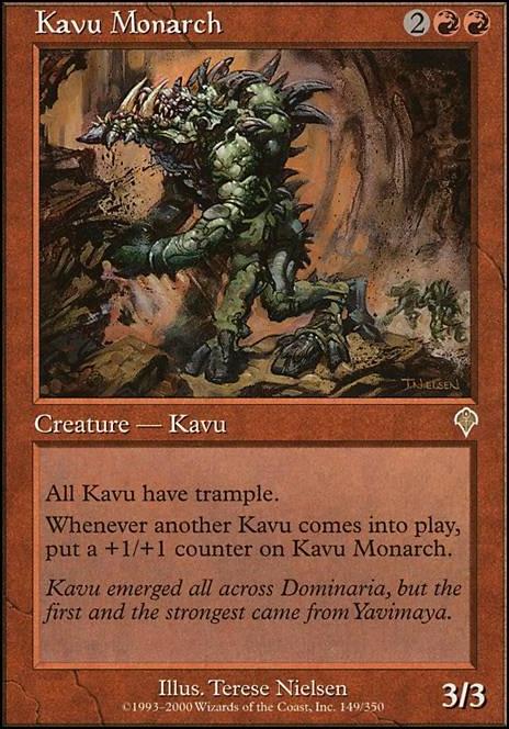 Untamed Kavu MTG MAGIC DOM Eng//Ita 4x Kavu Indomabile