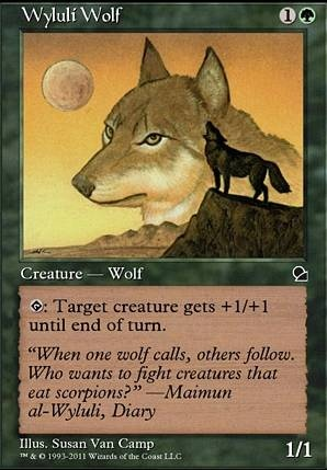 the Gathering Sacred Wolf by Magic