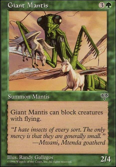Giant Mantis MTG BATTLE FOR ZENDIKAR