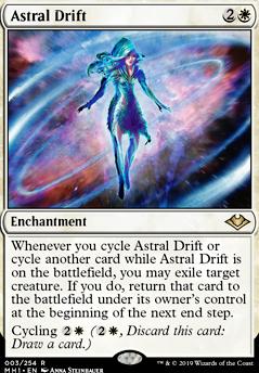 Astral Drift (MH1 MTG Card)