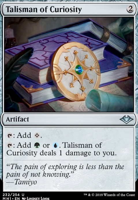 FOIL Talisman of Resilience Modern Horizons Artifact Uncommon NM