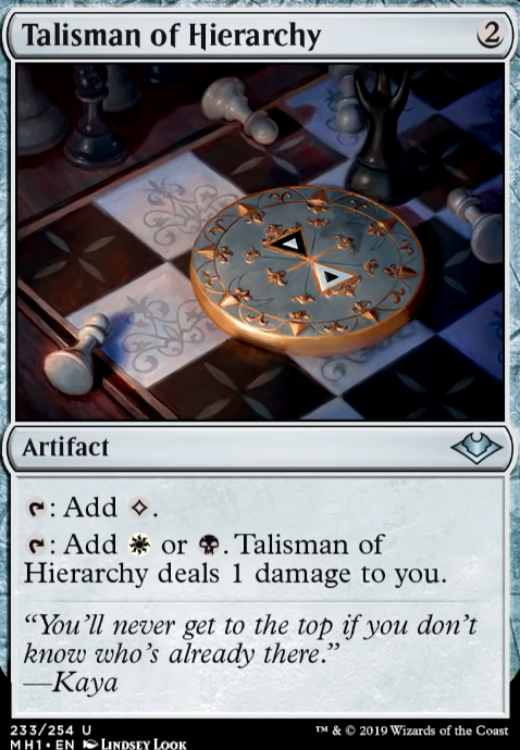 Talisman of Hierarchy