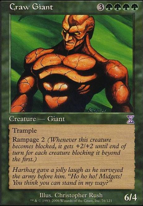 Craw Giant (TSB MTG Card)